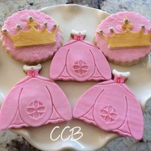 princess set cookies