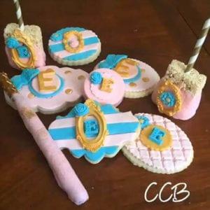 bat mitzvah cookie set