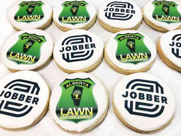 Corporate gifts - designer cookies - logo cookie - employees