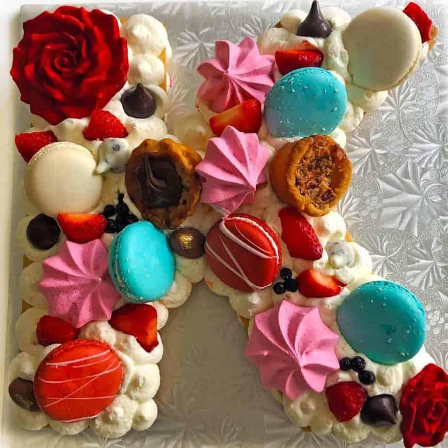 cream tart cookie cake k