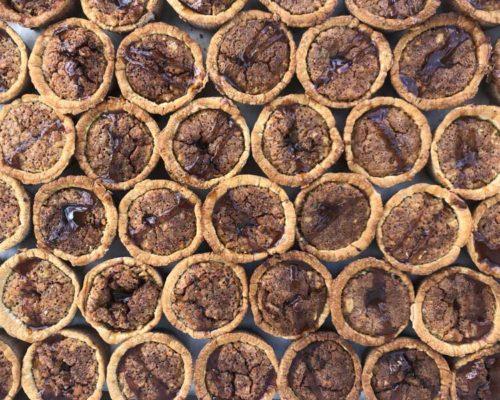 caramel glazed walnut