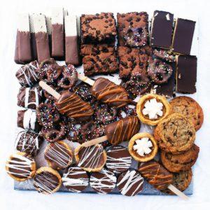 charcuterie box - chocolate lovers