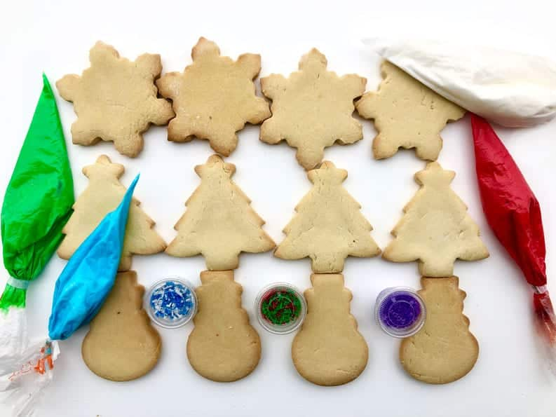 DIY - DECORATE YOUR OWN COOKIES CHRISTMAS