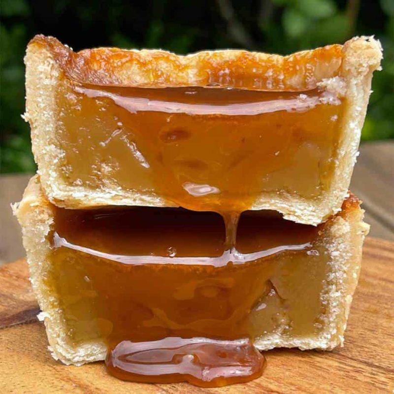 salted caramel butter tart