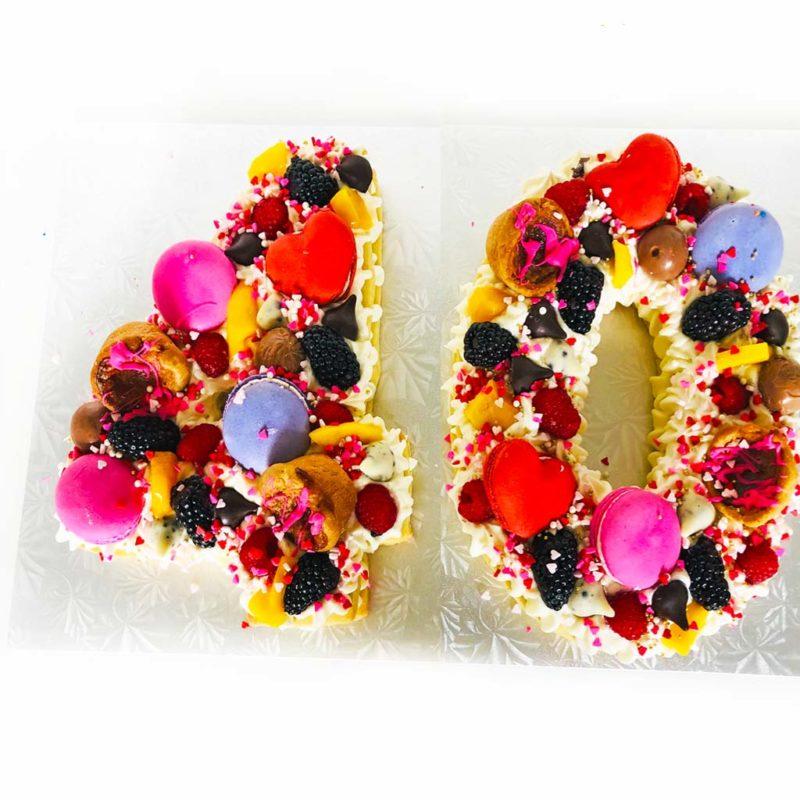 40 cream tart cookie cake