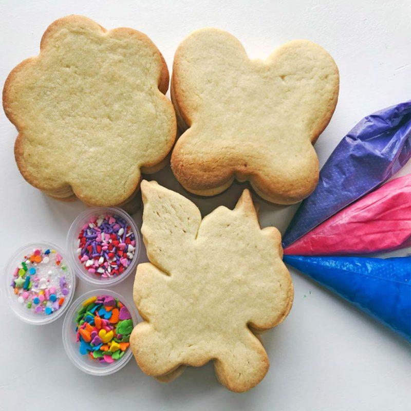 whimsical unicorn diy cookies