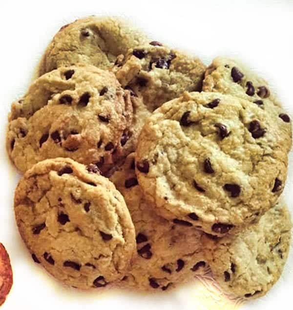 creations - gluten free chocolate chip cookies