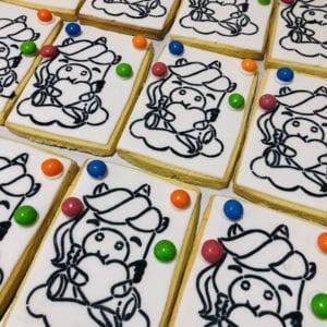 creations - unicorn pyo cookie