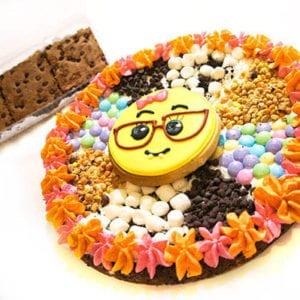 pizza cookie + brownies