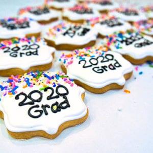 grad 2020 - shortbread